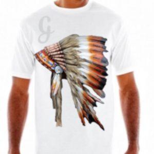 White Graphic T shirt